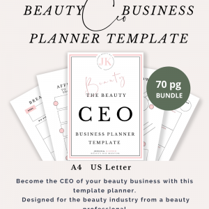 Beauty CEO Printable Business Planner